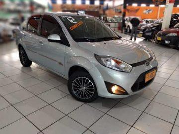 Fiesta Sedan 1.6 Flex Prata 2012