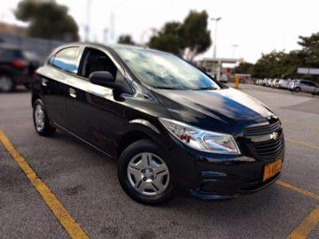 Chevrolet Onix LS 1.0 Preto 2015