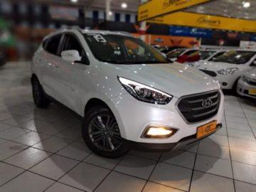 Hyundai Ix35 Gl 2.0 16v 2wd Flex Automática Branca 2019