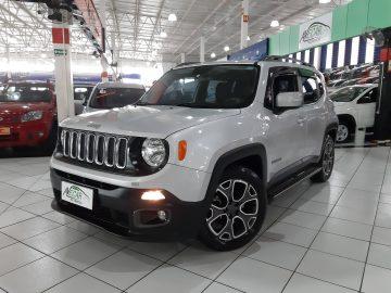 Jeep Renegade Longitute 1.8 AT 2018 ÚNICO DONO
