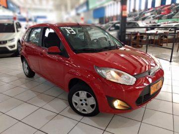 Fiesta Hatch 1.6 Vermelho 2013